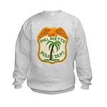 Palmetto Florida Police Kids Sweatshirt