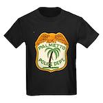 Palmetto Florida Police Kids Dark T-Shirt