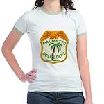 Palmetto Florida Police Jr. Ringer T-Shirt