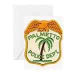Palmetto Florida Police Greeting Cards (Pk of 20)