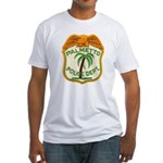 Palmetto Florida Police Fitted T-Shirt
