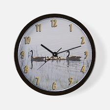 Goose Family Wall Clock