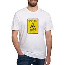 caution white boy dancing Shirt