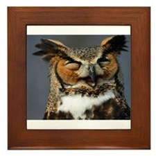 Cute Art photography Framed Tile
