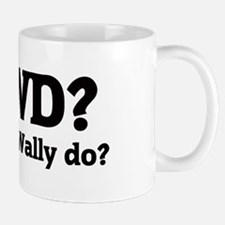 What would Wally do? Mug