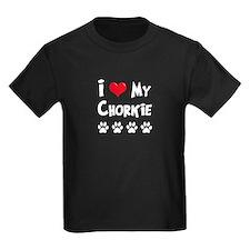 I Love My Chorkie T