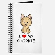 I Love My Chorkie Journal