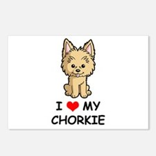 I Love My Chorkie Postcards (Package of 8)
