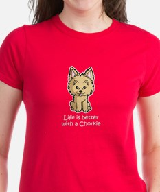 Life is better with a Chorkie Tee