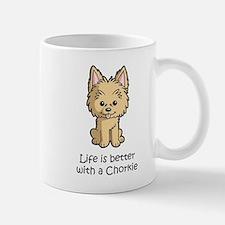 Life is better with a Chorkie Mug