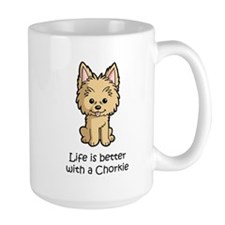 Life is better with a Chorkie Mug