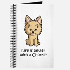 Life is better with a Chorkie Journal