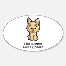 Life is better with a Chorkie Decal