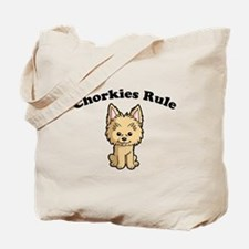 Chorkies Rule Tote Bag