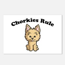 Chorkies Rule Postcards (Package of 8)