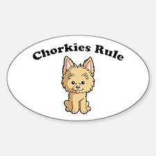 Chorkies Rule Decal