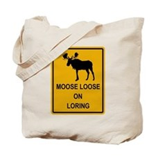 Moose Loose Tote Bag