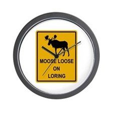 Moose Loose Wall Clock