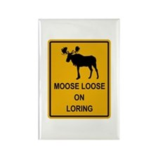 Moose Loose Rectangle Magnet (10 pack)