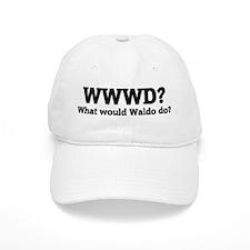 What would Waldo do? Baseball Cap