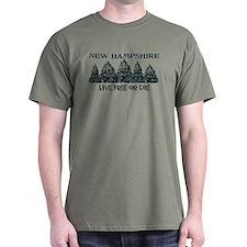 Live Free of Die T-Shirt T-Shirt