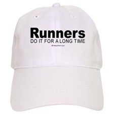 Runners keep it up for hours - Baseball Cap
