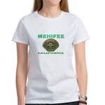 Menifee California Police Women's T-Shirt