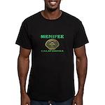 Menifee California Police Men's Fitted T-Shirt (da