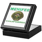 Menifee California Police Keepsake Box