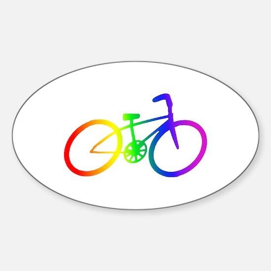 Biking Sticker (Oval)
