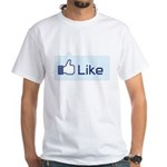 Like White T-Shirt