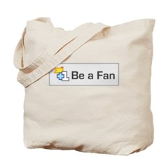 Be A Fan Tote Bag