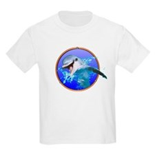 Dolphin Smiling Kids T-Shirt