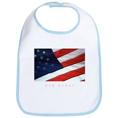 American Flag Old Glory Bib