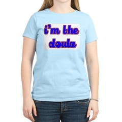 I'm the doula Women's Pink T-Shirt