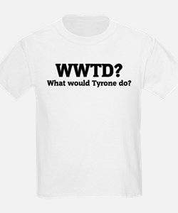 What would Tyrone do? Kids T-Shirt