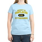 Displaced Pittsburgher Women's Light T-Shirt