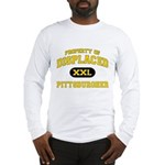Displaced Pittsburgher Long Sleeve T-Shirt