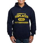Displaced Pittsburgher Hoodie (dark)