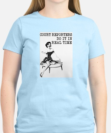 Court Reporter Swag! T-Shirt