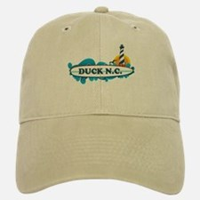 Duck NC - Surf Design Baseball Baseball Cap