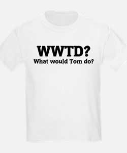 What would Tom do? Kids T-Shirt