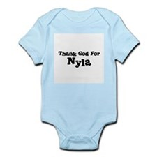 Thank God For Nyla Infant Creeper