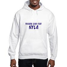 Thank God For Nyla Hoodie Sweatshirt