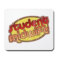 Student Midwife (faded) Mousepad