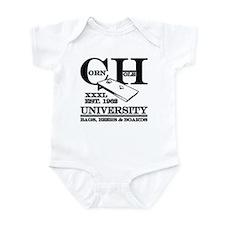 Cornhole University - Bags, B Infant Bodysuit