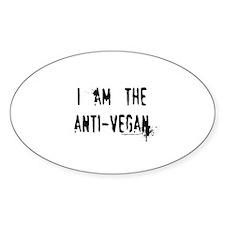 Am the anti-vegan Decal