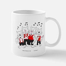 Chorus Singing Cats Mug