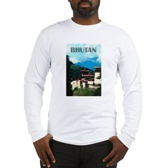 Bhutan Long Sleeve T-Shirt