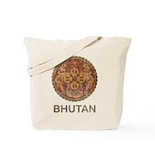 Vintage Bhutan Tote Bag